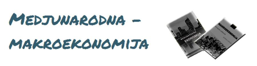 Medjunarodna - makroekonomija